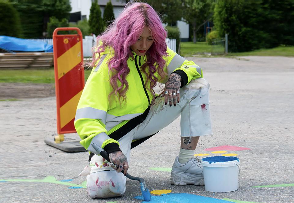 Region Gävleborg – 30m Road Painting